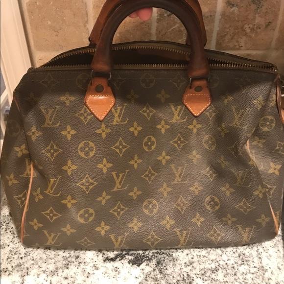 70aba9b8f0f4 Louis Vuitton Handbags - Louis Vuitton Speedy 30 VINTAGE 1970 s!